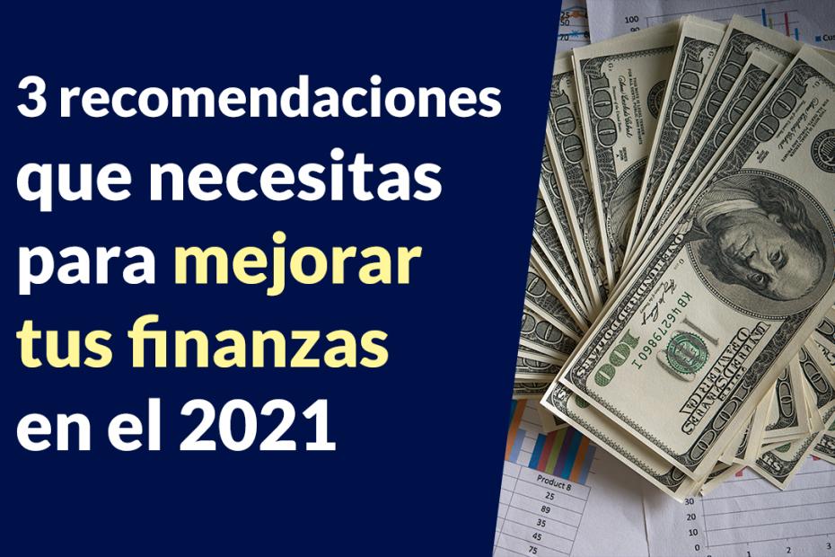 Mejorar tus finanzas en el 2021